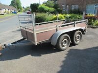 twin wheeled 8x4 trailer good condition