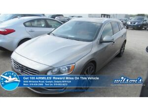2015 Volvo V60 T6   AWD   LEATHER   SUNROOF   CRUISE CONTROL   P