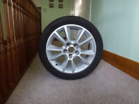 Brand new spare alloy wheel & tyre 225/45R17 for Vauxhall Zafira