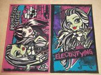 Monster High - Girls Bedroom Bundle - Rugs, Beanbag, Bedding, Activity Sets
