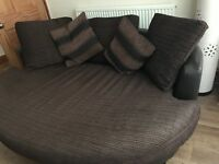 D fs sofa with 2 large Love chairs