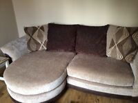 DFS 4 seater large sofa