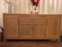 Large sideboard, wood effect