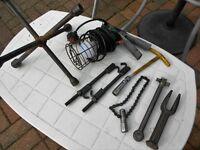assorted car repair tools