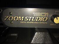 Zoom Studio 1201 | DIGITAL REVERB & MULTI EFFECTS