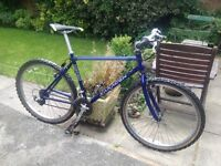 SARACEN GENTS MOUNTAIN BIKE 21 GEARS (A NICE BIKE IT RIDES WELL) NEW TYRES, ALSO SERVICED