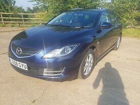2009 Mazda 6 2.2 TD TS 5dr 6 Speed **FULL SERVICE HISTORY** Plus 12 Months MOT**Low Mileage**