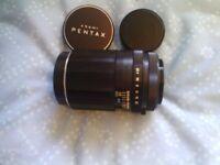 REDUCED! Asahi Pentax telephoto 135mm F3.5 lens M42