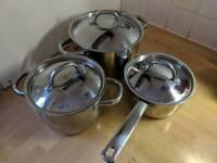 IKEA Oumbarlig 7pc cookware set