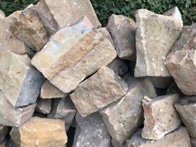 Reclaimed Sandstone Building Stone