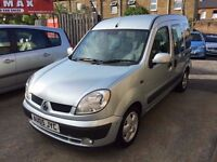 Renault Kangoo 1.6 16v Expression 5dr Automatic ,, 6 MONTHS FREE WARRANTY, 1 OWNER