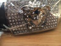 Silver Versace Belt