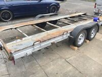 Car trailer transporter