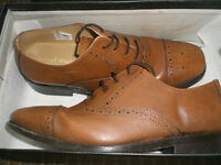 Size 6 Tan Shoes - Samuel Windsor Classic Collection