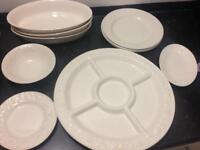 BHS Lincoln Dinner set with larg serving plate