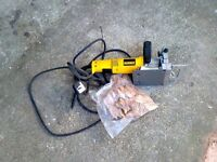 DEWALT JOINTER AND JOINTS