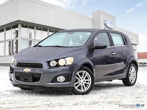 2013 Chevrolet Sonic $100 B/W, LT, AUTO, WINTER TIRES, LOADED