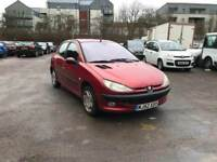 Peugoet 206 , 1.4 Petrol 5 Door Hatchback ( Spare and Repaire ) Start and drive