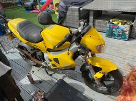 2001 Gilera dna 50cc for spares or repair SWAP FOR PIT BIKE