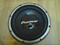 Pioneer TS-W308D2 30cm 2Ω C-Type Dual Voice Coil Subwoofer (1400W)