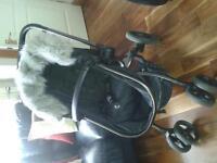 2 in 1 Orb mothercare pram