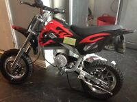 Electric kids dirt bike