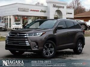 2017 Toyota Highlander LIMITED | AWD | PANORAMIC | HEAT/COOL SEA