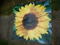 Garden art - sunflower