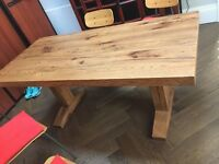 Dining Table Natural Oak