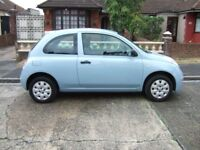 sold sold 2006 NISSAN MICRA 1.2.3 DR MET BLUE 69000 MILES WITH FULL SERVICE HISTORY MOT AUG 2019