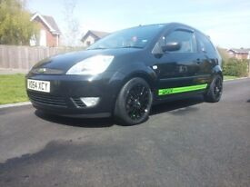 Ford Fiesta Flame 1.4 Black Good Condition