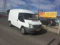 Ford transit T350 diesel 2008 one owner 78000 ful history full year Psv fully serviced
