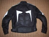 Ridex Motorcycle leather jacket size 42 chest