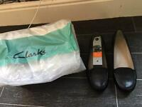 Brand new Clark shoes in box size 7