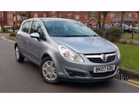 2007 Vauxhall Corsa 1.2 i 16v Club 5dr **F/S/H+2 OWNERS+IMMACULATE**
