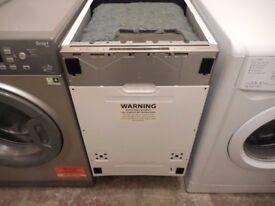 Kenwood Slimline Integrated Dishwasher KID45S17 - Ex Display