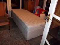 BED AND MATRESS IN GOOD CONDITION
