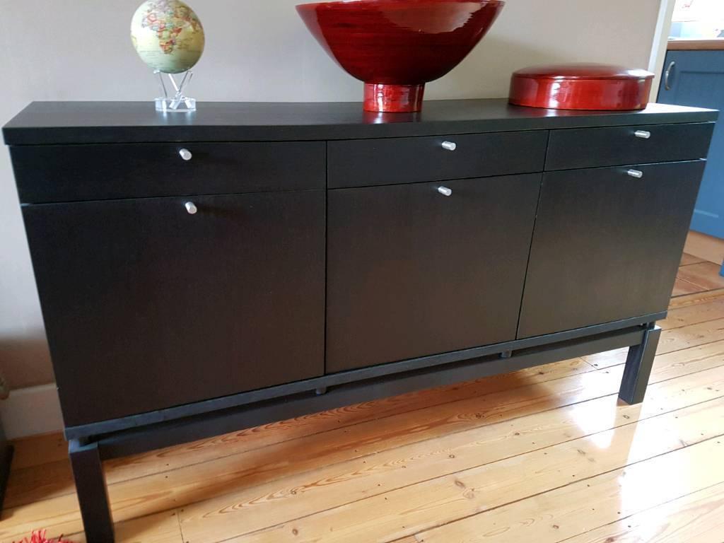 Ikea Dark Brown sideboard