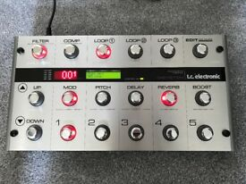 TC Electronic G-System guitar multi effects