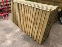 •NEW• PRESSURE TREATED GARDEN FENCE PANELS - VARIOUS SIZES