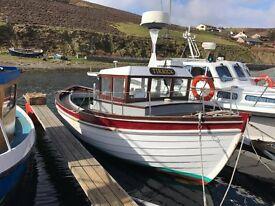Fishing Motor Boat Shetland