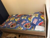 Single bed and mattress £40