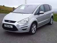 (YouTube Video)2.2 TDCi~2012 Ford S-Max Titanium, 7 Seater, New MOT & Service, FSH, 6 Speed, B-tooth