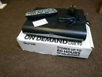 Sky+HD BOX and remote control