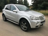 2007 MERCEDES ML350 NEW MOT £6995 O-N-O