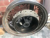 WHEELS FOR YAMAHA VIRAGO 535 for sale  Normanton, West Yorkshire
