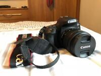Canon 77d 18-55mm with bag