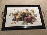 Vintage Tray - with Continental Ceramic Tile