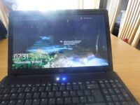 HP LAPTOP BLACK/SILVER VERY GOOD CONDITION WITH CHARGER
