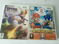 Nintendo Wii games both for £10
